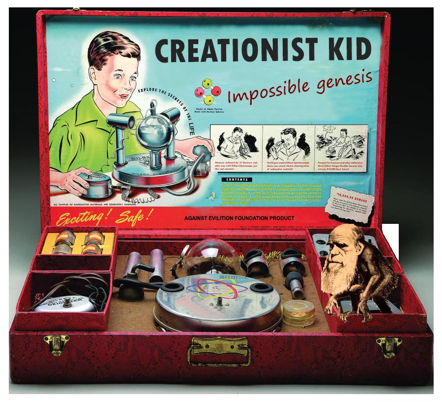 Creationist Kid: Képtelen keletkezés – bizonyítsd magad!